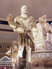 Caesars Forum Shops sculptures1 - by mharrsch