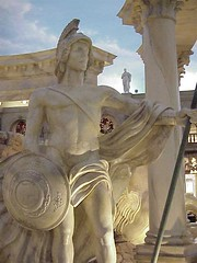 Caesars forum shops statue8 - by mharrsch