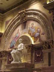 Caesars Palace interior frescos1 - by mharrsch