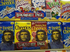 Che-erios: Revolution in a Box (C-Monster) Tags: streetart art nycpb advertising celso cereal urbanart popart revolution repetition che cheerios revolucion guevara ernesto guerilla guerillamarketing celsotrevino supermarketart revolutioninabox