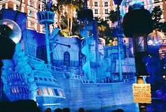 Vegas' Treasure Island After Dark (Old Shoe Woman) Tags: lasvegas nevada treasureisland ti vegas pirateship