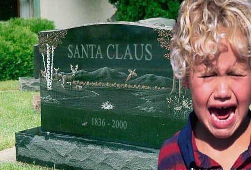 Santa's Tombstone on Flickr