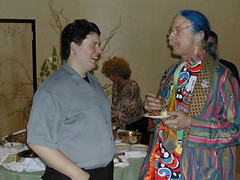 EthanHurd & Patch Adams [Photo by Laertes] (CC BY-SA 3.0)