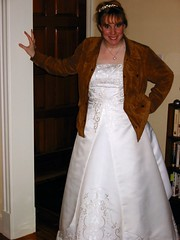 Bride in Jacket