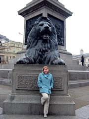 Joy, in Trafalgar Square