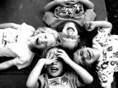 kids (Special) Tags: kids unfound cousins nephew happy group bw 25 crapcam sissy