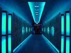 Passage (individual8) Tags: blue space tunnel artificial passage outofthisworld