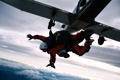 Skydiving in NZ