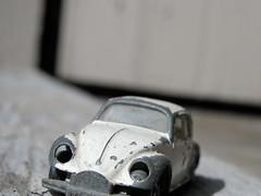 volkswagen bug (Ben McLeod) Tags: white macro bug toy interestingness matchbox volkswagenbug abigfave