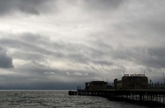 pier (groc) Tags: worthing pier clouds beach