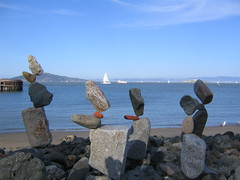 Balancing Rocks (finn) Tags: sf sfo sanfrancisco rock rocks balance bay