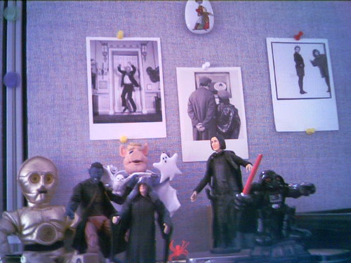 Office Decor: Action Figures