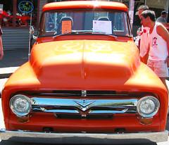 Orange Firey Truck - by sonyaseattle