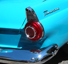 Blue Tbird taillight - by sonyaseattle