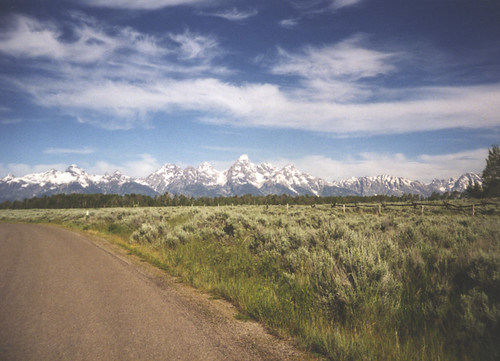 tetons, Wyoming by cadebear