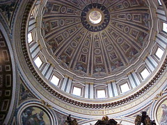 Dome of St Peters4 (Gauis Caecilius) Tags: italy pope vatican stpeters rome roma europe italia cathedral kathedrale catedral unescoworldheritagesite cathédrale dome sanpietro italie kathedraal cattedrale holysee papalstate unescoworldheritagelist καθεδρικόσναόσ