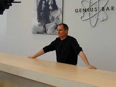 Jobs at the Genius Bar (flargh) Tags: macs macworld apple macintosh steve jobs