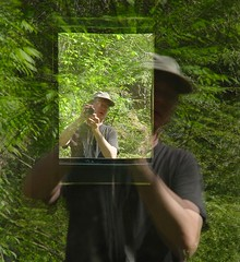 portrait of my reflection (zen) Tags: selfportrait me portraits reflections mirrors zen 20040423 bga zensutherland