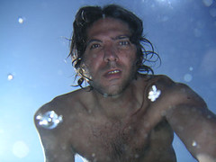 poissons01 (iko) Tags: portrait selfportrait me water underwater corse corsica moi distored tordu