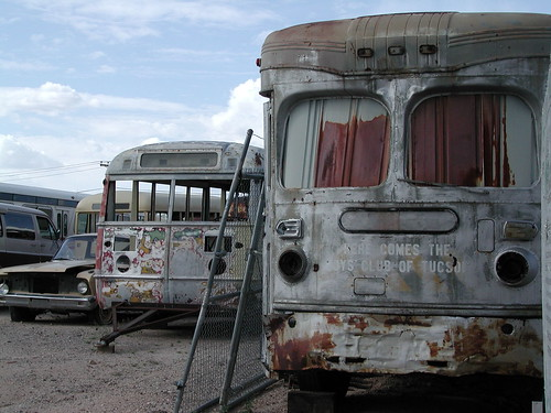 Old Pueblo Trolley by Calc-tufa