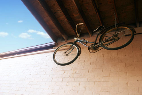 antique bicycle by romanlily