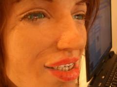 HALLE's Eye (jurvetson) Tags: wtn her robot head topv2222 topv3333 topv9999 cyborg eye topv11111