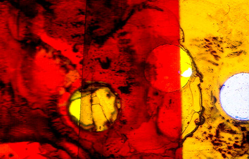 Abstract on a Slide 1970