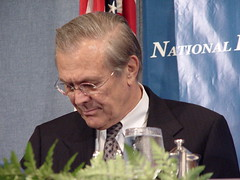 Donald Rumsfeld at National Press Club, Sep 2003