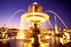 Fountain (wilf) Tags: paris france fountain flickrversary showcase placedelaconcorde top20longexposure