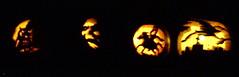 Spooky.JPG (firebaby) Tags: halloween jackolanterns