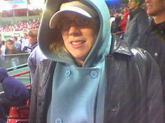 it's a mite cold at Fenway tonight
