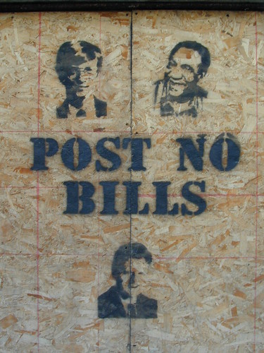 POST NO BILLS {notes} by striatic
