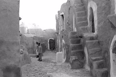 Tunisian Troglodyte Village 1976, II (Michael Banister) Tags: tunisia troglodytes