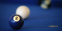 Two (Unspeakably Awesome) Tags: blue 2 two film pool photo topv1111 unfound 25 billiards notdigital pooltable