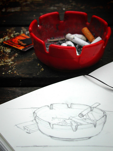 Red Ashtray