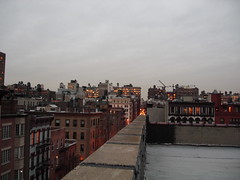 Rooftop view from 202 6th Ave. NYC (AnDy631) Tags: nyc newyorkcity sky urban usa ny newyork skyline buildings soho ciel ville etatsunis btiments tatsunis batiments