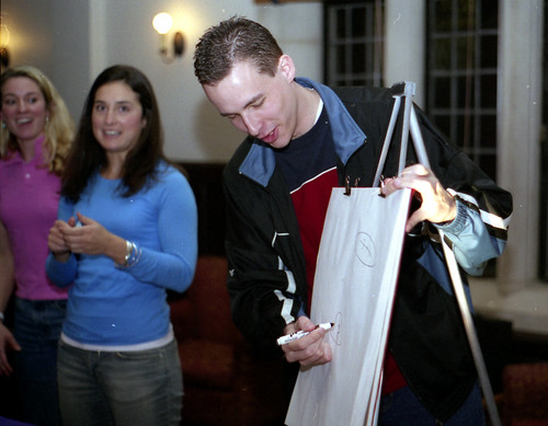 Andrew Playing Pictionary