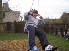 Alan on the swing (Byrnesyliam) Tags: stcombs