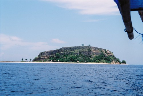 One of the Seventeen Islands (unfortunately with tourist facilities)