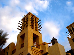 Madinat Jumairah (Butti Ahmed) Tags: madinat jumairah dubai dxb blue sky brown
