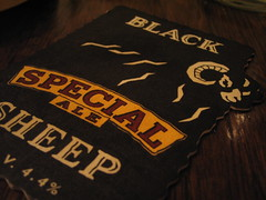 Black Sheep Beermat