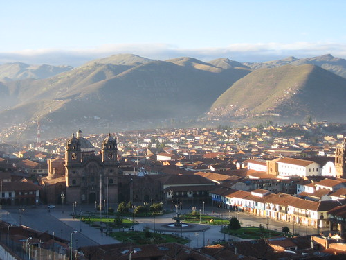 Cusco at dawn