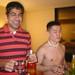Rahim and Jimmy drinking battle