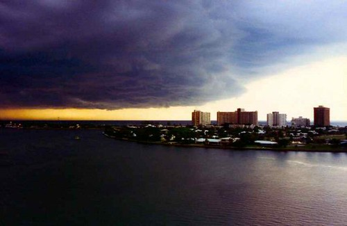 Storm coming in at Haulover, Bal Harbour FLA