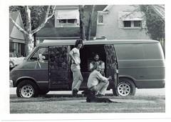 van (muchos gracias daguerre) Tags: circa1976 van carpet dodge pregrunge shag dallas merrimac