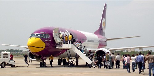 Nok Air, la línea aérea más mona de Tailandia