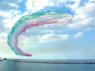 Bari - Festa di S.Nicola, Frecce Tricolore