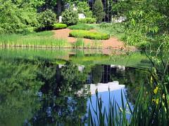 Carter Museum reflected (mimbrava) Tags: atlanta reflection water topv111 garden georgia pond bravo mimbrava atag jimmycarterlibraryandmuseum setjimmycarterlibraryandmuseum igotschmapped