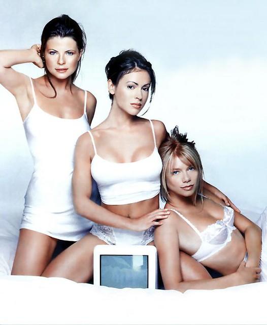 erotica - girls - erotica - girls - yasmine bleeth alyssa milano amy smart in lin by maloy