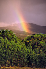 Rainbow in the Cairngorms